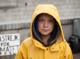 Greta Thunberg in I Am Greta, directed by Nathan Grossman. Copyright: Dogwoof. All Rights Reserved.