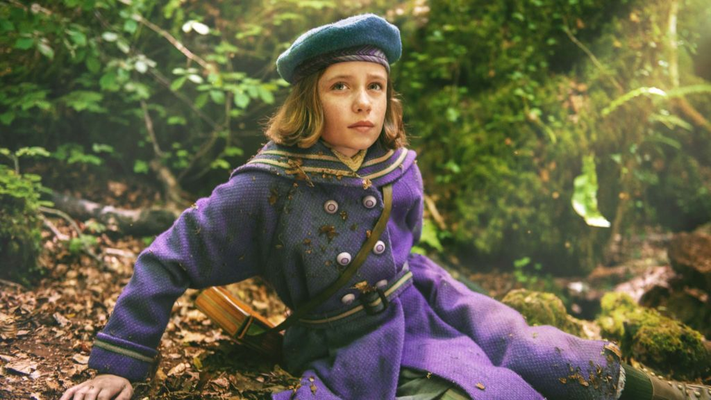 Dixie Egerickx as Mary in The Secret Garden, directed by Marc Munden. Copyright: 2020 Studiocanal SAS. All Rights Reserved.