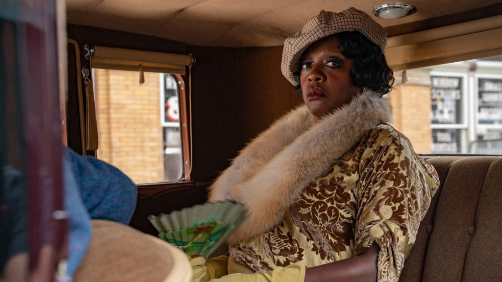 Viola Davis as Ma Rainey in Ma Rainey's Black Bottom, directed by George C Wolfe. Photo: David Lee. Copyright: 2020 Netflix. All Rights Reserved.