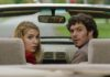Sophie Nelisse as Caroline and Adam Brody as Abe Applebaum in The Kid Detective, directed by Evan Morgan. Copyright: Sony Pictures Releasing. All Rights Reserved.