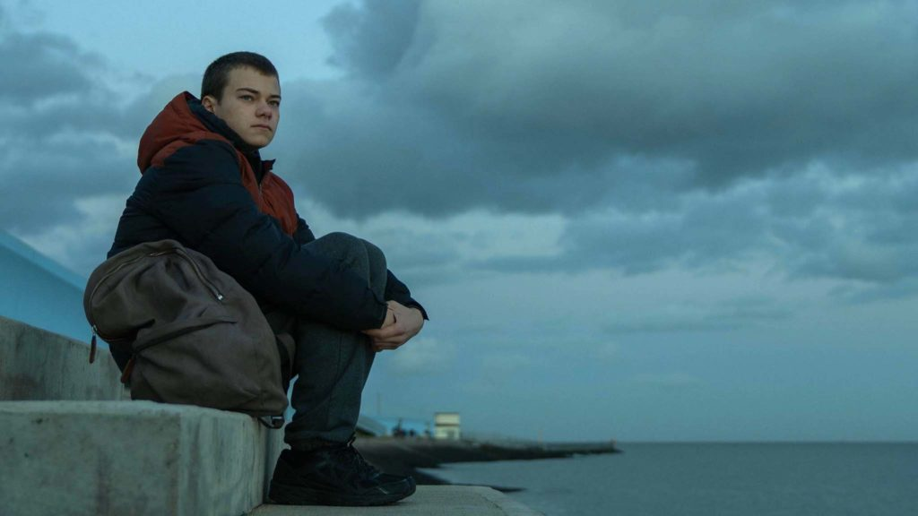 Conrad Khan as Tyler in County Lines, directed by Henry Blake. Copyright: BFI Distribution. All Rights Reserved.