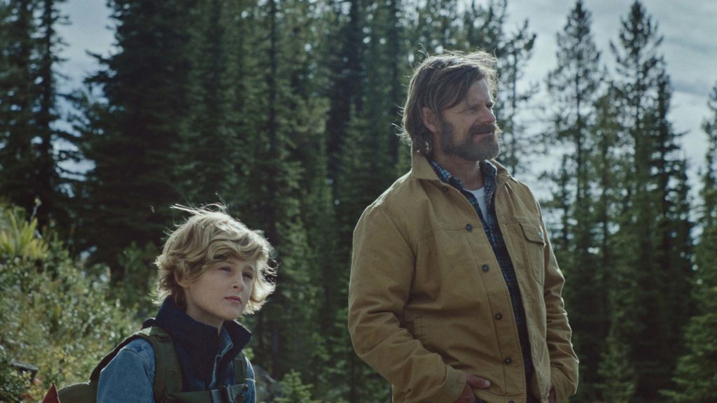 Sasha Knight and Steve Zahn in Cowboys, directed by Anna Kerrigan. Copyright: Blue Finch Film Releasing. All Rights Reserved.