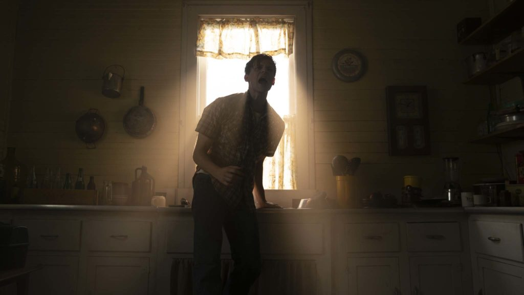 Ruairi O'Connor as Arne Johnson in The Conjuring: The Devil Made Me Do It, directed by Michael Chaves. Photo: Ben Rothstein. Copyright: 2019 Warner Bros. Entertainment Inc. All Rights Reserved.