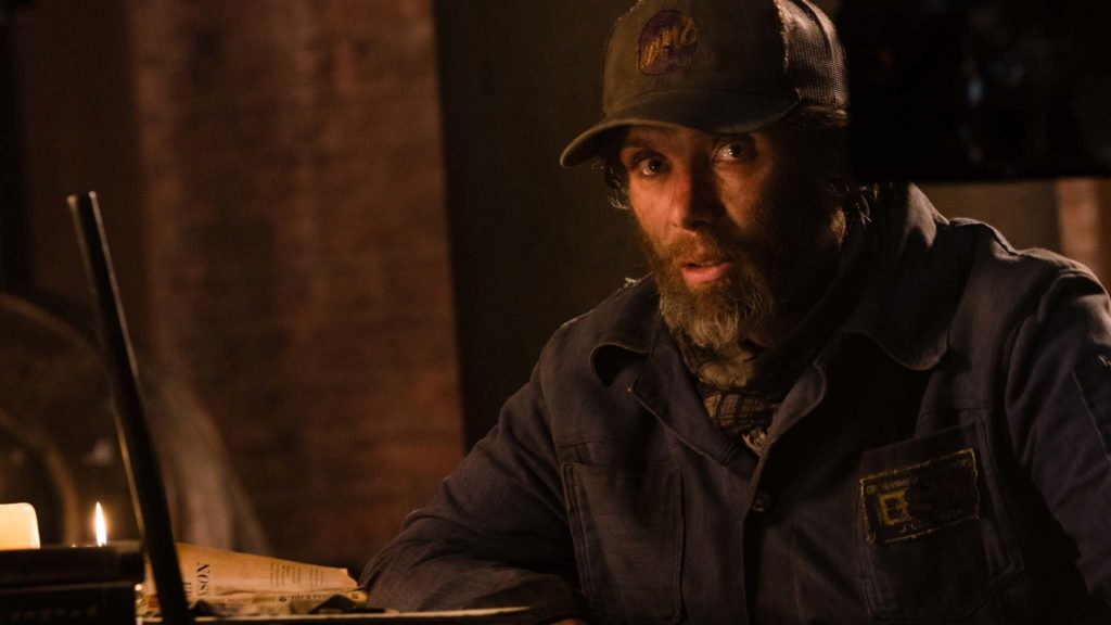 Cillian Murphy as Emmett in A Quiet Place Part II, directed by John Krasinski. Photo: Jonny Cournoyer. Copyright: 2019 Paramount Pictures. All Rights Reserved.