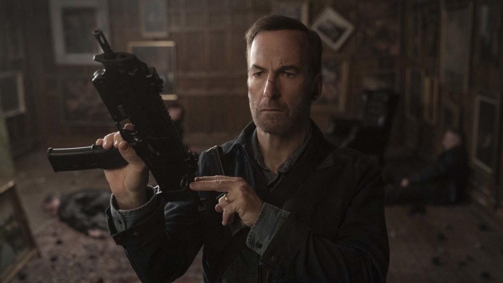 Bob Odenkirk as Hutch Mansell in Nobody, directed by Ilya Naishuller. Photo: Allen Fraser. Copyright: 2021 Universal Studios. All Rights Reserved.