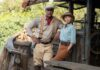 Dwayne Johnson as Frank Wolff and Emily Blunt as Lily Houghton in Jungle Cruise, directed by Jaume Collet-Serra. Photo: Frank Masi. Copyright: 2020 Disney Enterprises, Inc. All Rights Reserved.