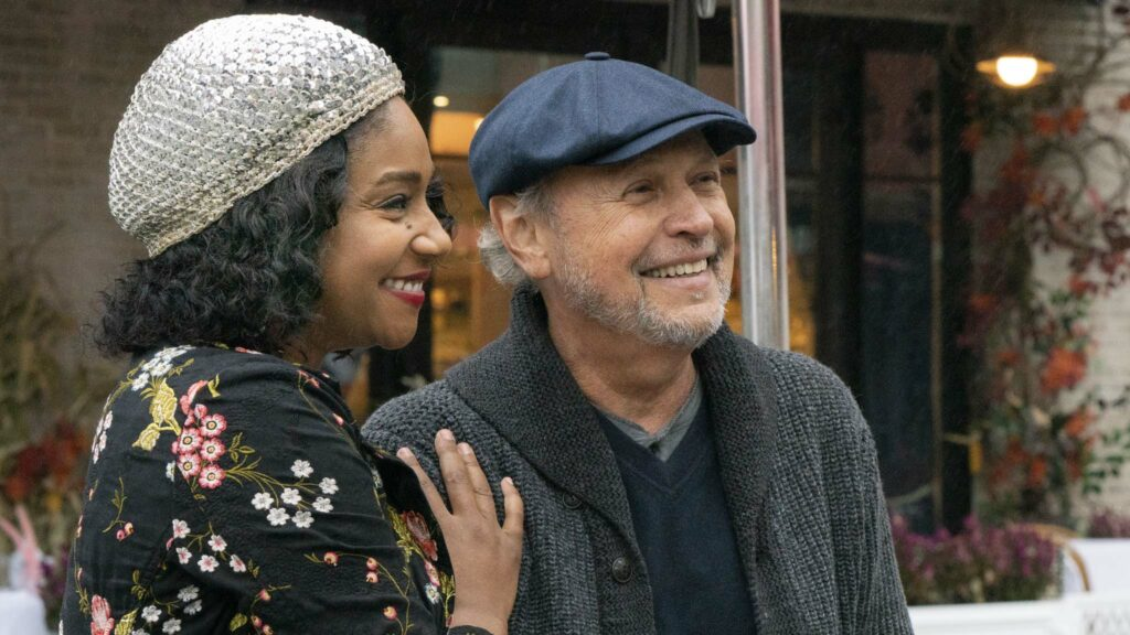 Tiffany Haddish as Emma Payge and Billy Crystal as Charlie Burnz in Here Today, directed by Billy Crystal. Photo: Cara Howe. Copyright: 2021 CTMG, Inc. All Rights Reserved.
