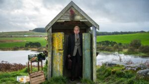 Timothy Spall as Tom in The Last Bus, directed by Gillies MacKinnon. Copyright: Celsius Entertainment/Parkland Entertainment. All Rights Reserved.