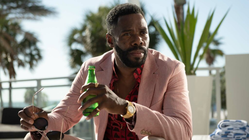 Colman Domingo as X in Zola, directed by Janicza Bravo. Photo: Anna Kooris. Copyright: A24 Films. All Rights Reserved.