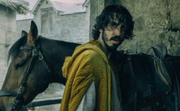 Dev Patel in The Green Knight, directed by David Lowery. Copyright: A24/Entertainment Film Distributors. All Rights Reserved.