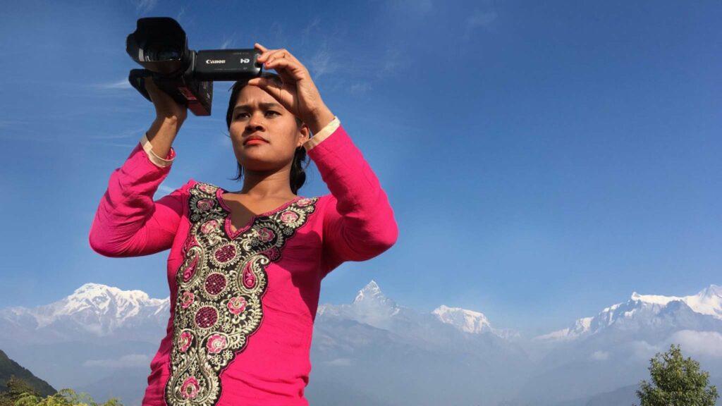 Belmaya Nepali in I Am Belmaya, directed by Sue Carpenter and Belmaya Nepali. Copyright: Dartmouth Films. All Rights Reserved.