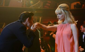 Matt Smith stars as Jack and Anya Taylor-Joy as Sandie In Soho, directed by Edgar Wright. Photo: Parisa Taghizadeh. Copyright: 2021 Focus Features LLC. All Rights Reserved.